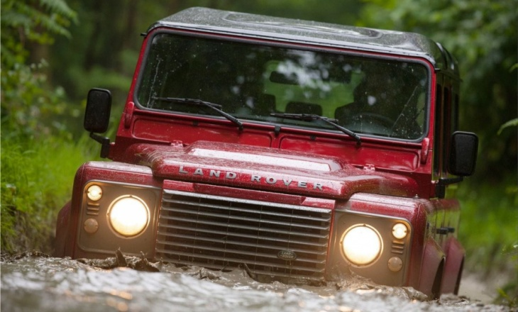 Land Rover Defender heavy-duty