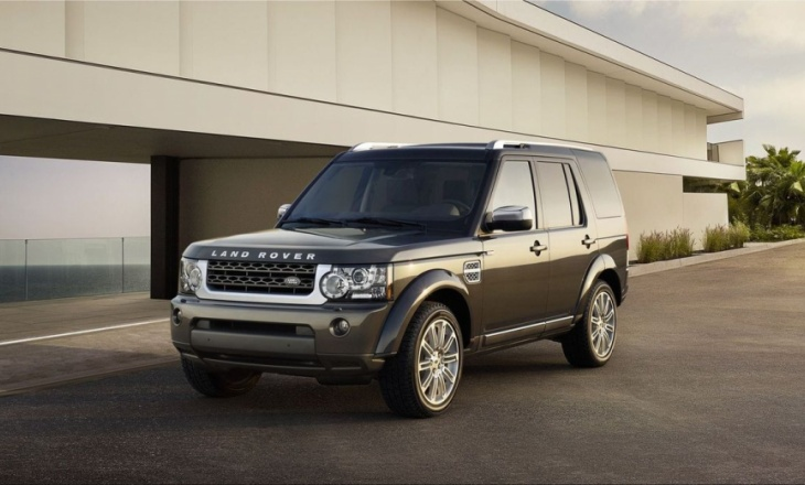 Land Rover Discovery 4 HSE Luxury Limited Edition luxurious specification