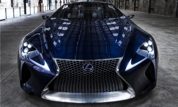 Lexus LF-LC Blue hybrid concept with 500hp