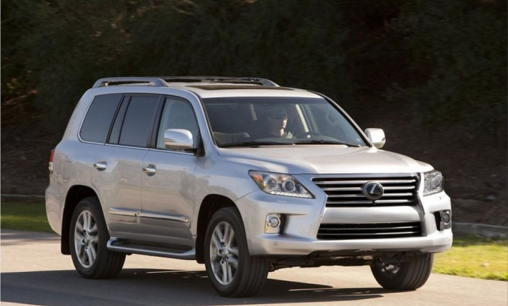 Lexus LX 570 receives upgrades and changes