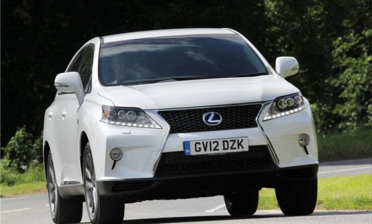 Lexus RX 450h F Sport genuine effectiveness