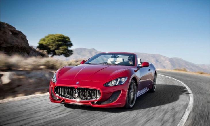 Maserati GranCabrio Sport with automatic six-speed ZF transmission