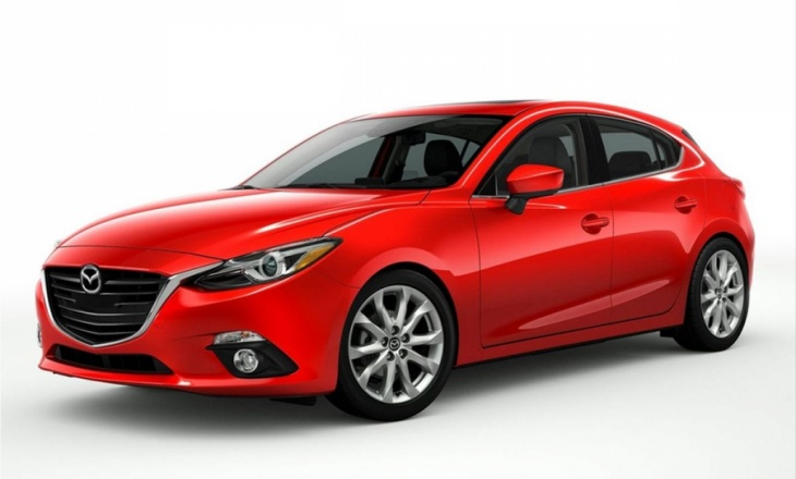 2014 Mazda 3 redesigned hatchback