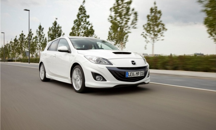 Mazda 3 MPS  the best-selling vehicle for Mazda in Europe