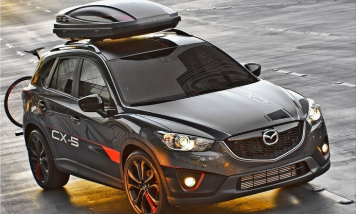 Mazda CX-5 Dempsey Concept - sleek, sporty and stylishly