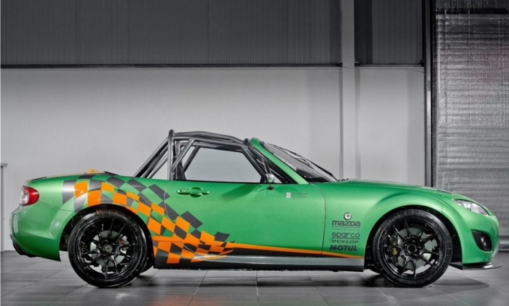 Mazda MX-5 GT Race Car with 279 hp