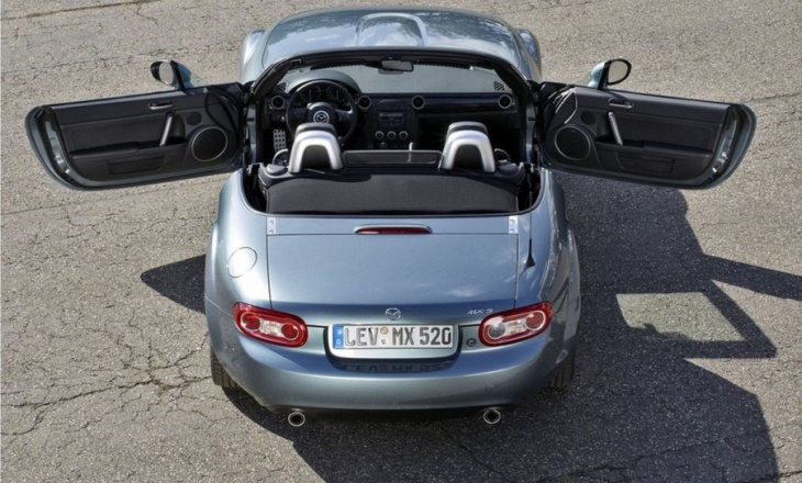The facelifted Mazda MX-5 debut in Europe