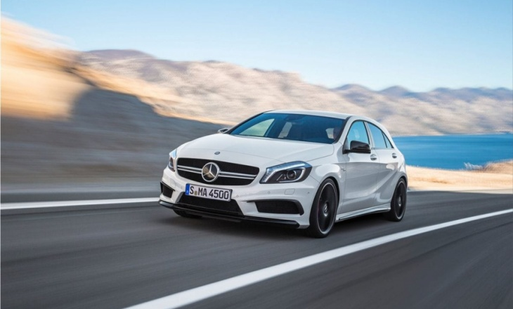 Mercedes-Benz A45 AMG's exceptional performance
