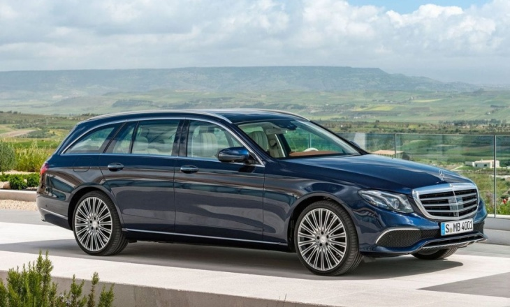 Mercedes-Benz E-Class Estate was officially revealed
