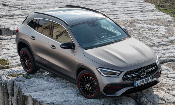 The new Mercedes-Benz GLA - official info and photos
