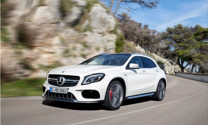 The new Mercedes-Benz GLA facelift