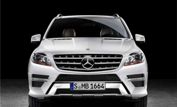 Mercedes-Benz M-Class - leading-edge automotive technology