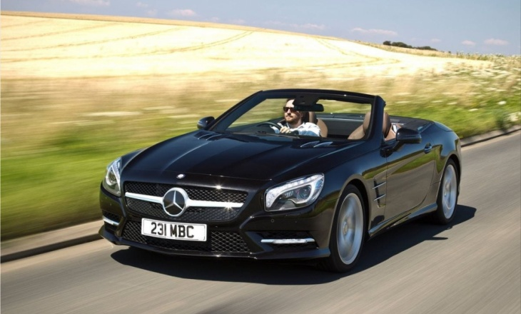 Mercedes-Benz SL500 sportiness, refined luxury