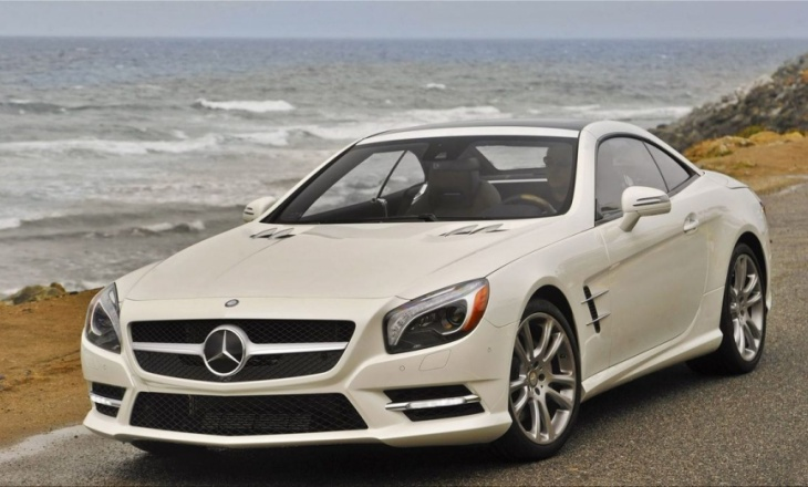 Mercedes-Benz SL550 - MAGIC VISION CONTROL