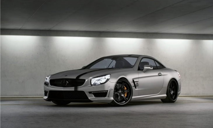 "Mercedes SL63 AMG ""Seven-11"" by Wheelsandmore"