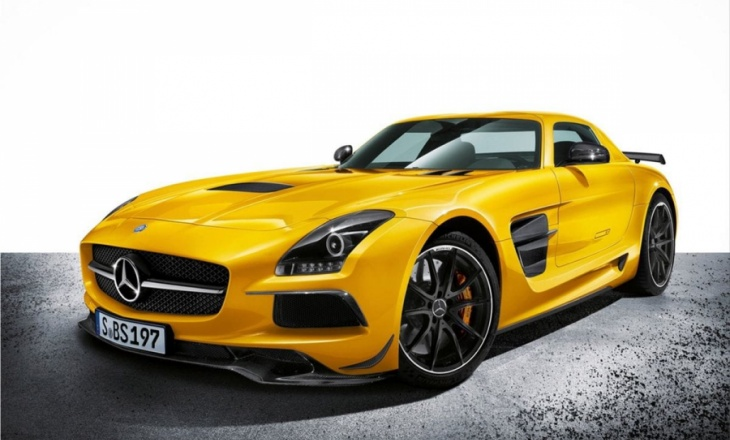 Mercedes-Benz SLS AMG Black Series super sports car