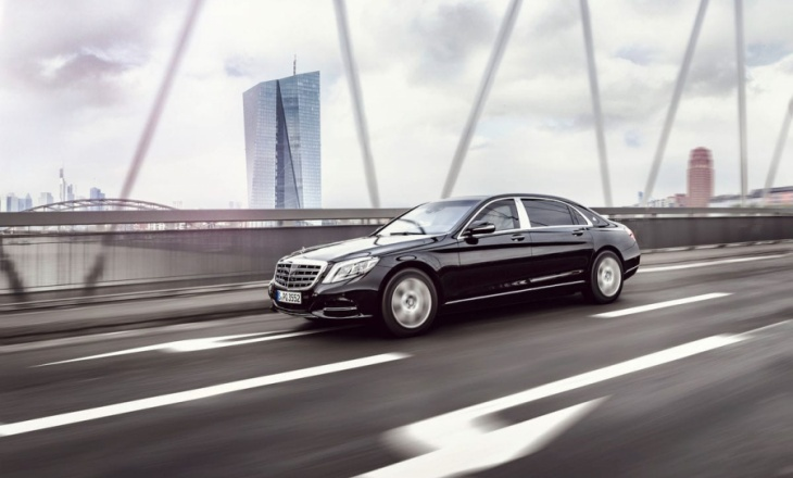 Mercedes-Maybach S600 Pullman Guard can withstand bullets and explosions
