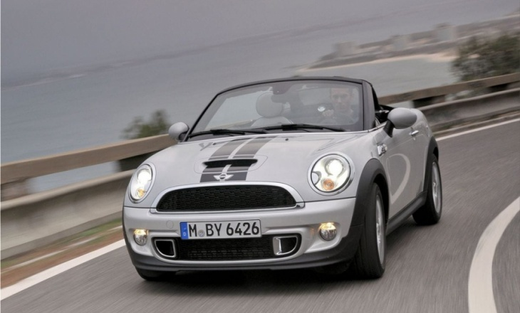 Mini Roadster open-top two-seater