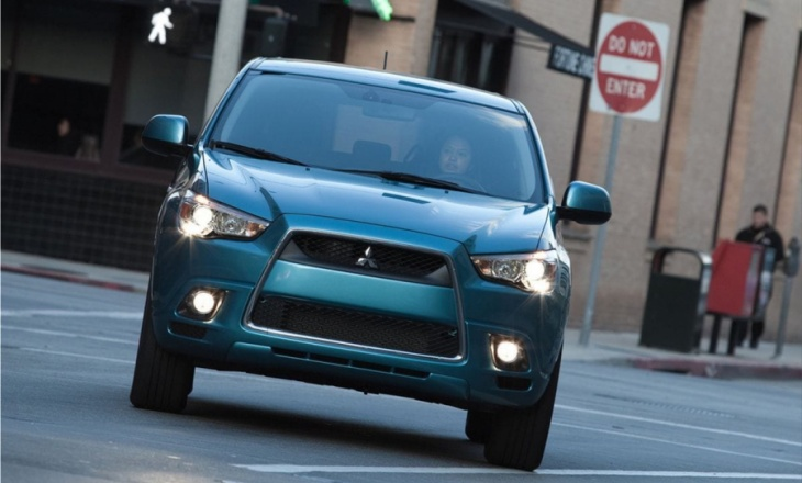 Mitsubishi CUV crossover utility vehicle