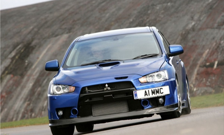 Mitsubishi Lancer Evolution X FQ-400 fast and extreme