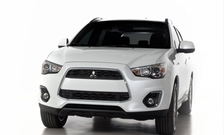 Mitsubishi Outlander Sport - simple and clean shape
