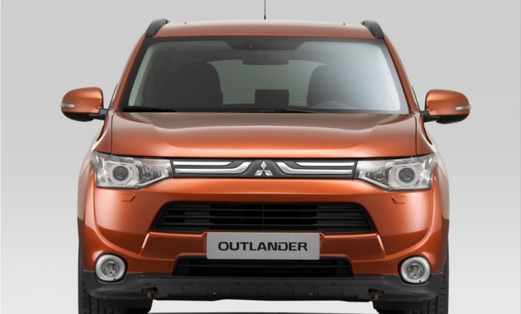 Mitsubishi Outlander all-new mid-size crossover