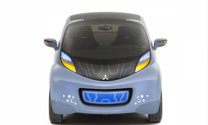 Mitsubishi i MiEV Sport Air Concept electric sports car