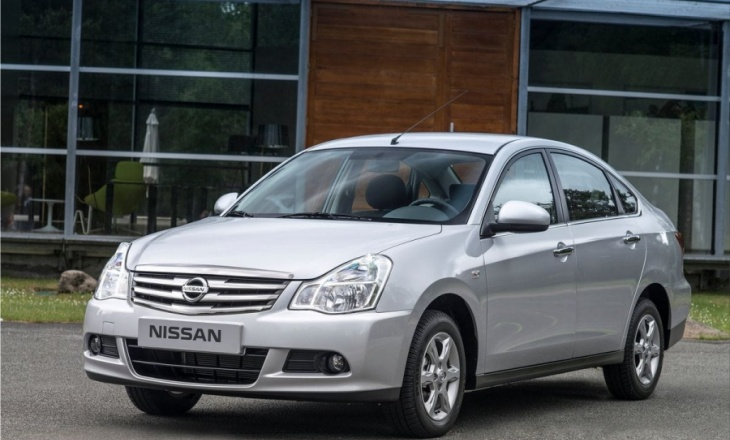Nissan Almera for Russian consumers