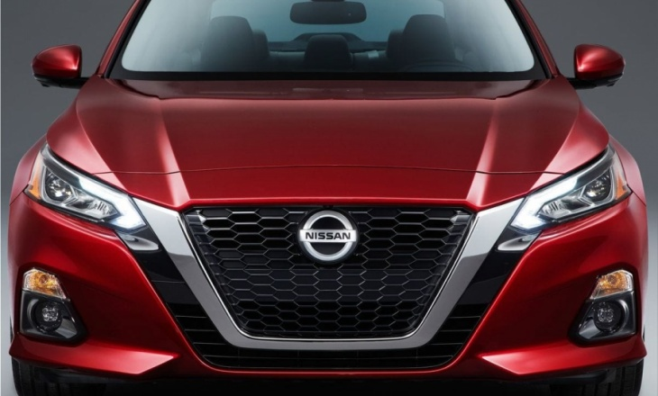 2019 Nissan Altima sedan: the main facts