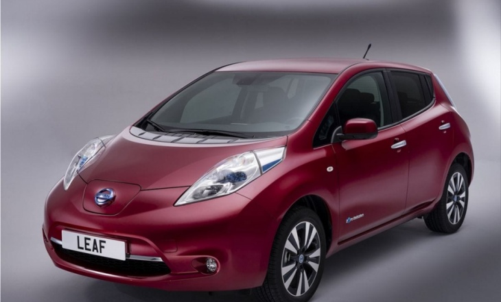 2014 Nissan Leaf - world's most popular pure electric vehicle