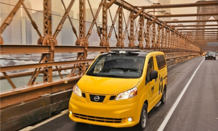 Nissan NV200 Taxi - the iconic yellow cab