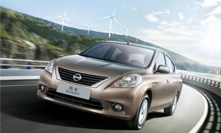 2012 Nissan Sunny class leader in fuel economy