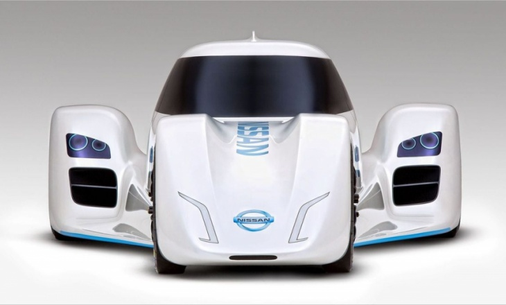 World's fastest electric car: Nissan ZEOD RC