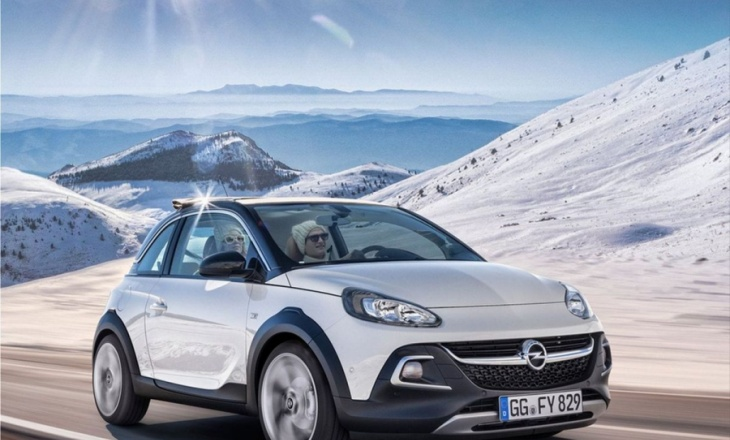 Opel Adam Rocks - cool mini-crossover