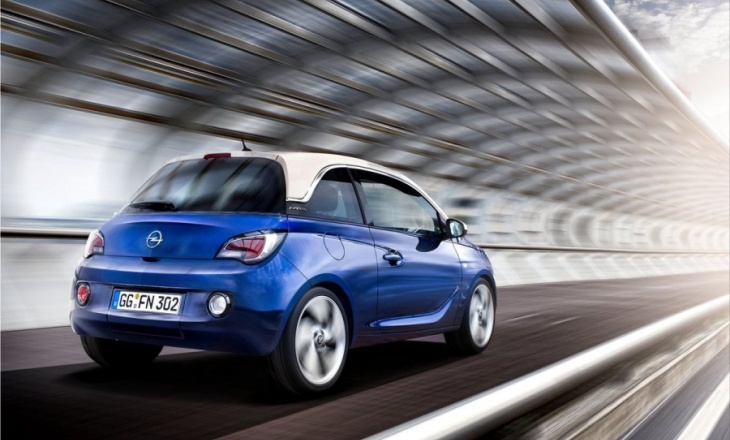 Opel Adam A-segment car