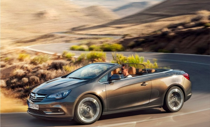 Opel Cascada all-season convertible