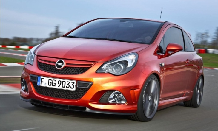 Opel Corsa OPC Nurburgring Edition - Outstanding driving performance