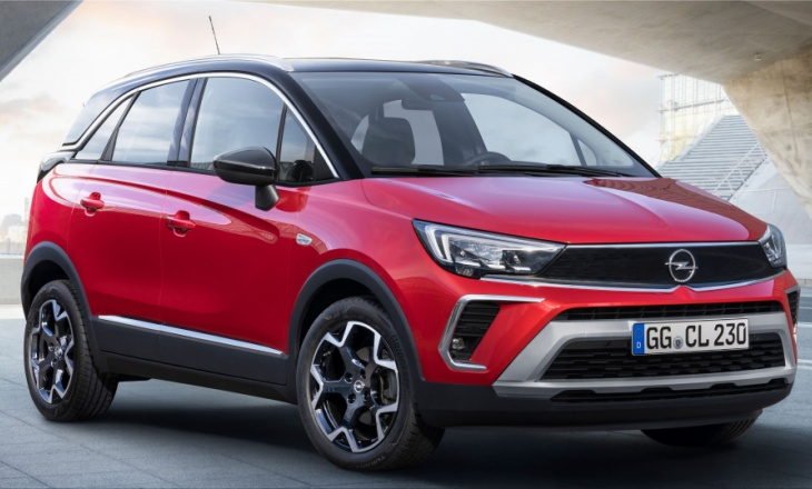 The first images with the new Opel Crossland compact SUV