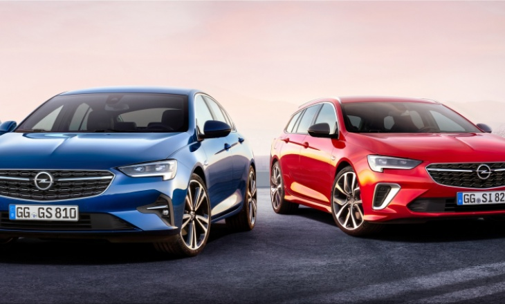 Opel Insignia facelift from € 25,000