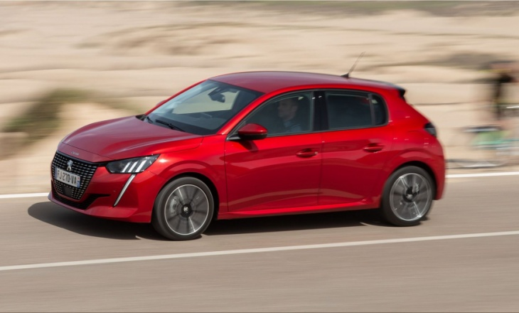 Peugeot 208 is first at the top of sales
