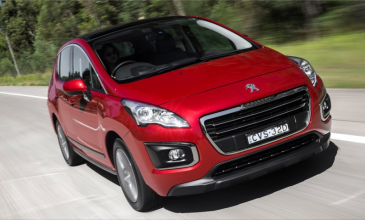 The Peugeot 3008 and 5008 are in high demand