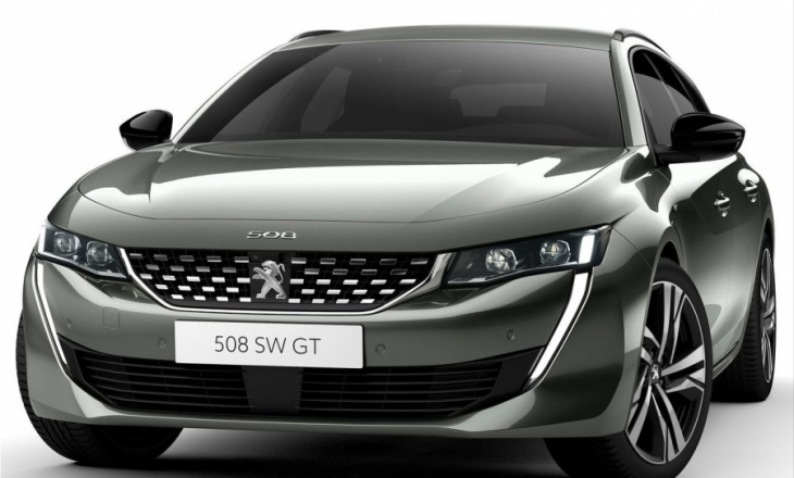 The new Peugeot 508 SW finally arrives