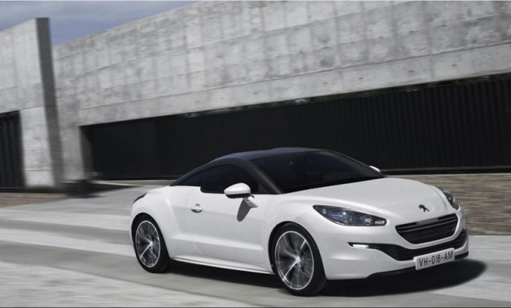 Peugeot RCZ sporty and elegant