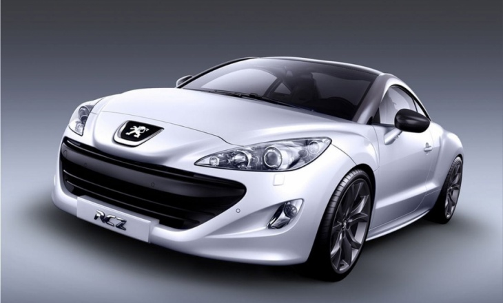 Peugeot RCZ lifestyle vehicle