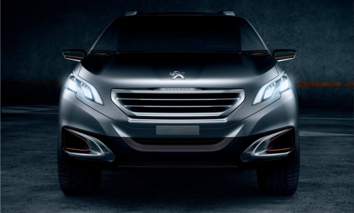 2012 Peugeot Urban Crossover Concept cheeky, refined and charismatic, sporty and seductive