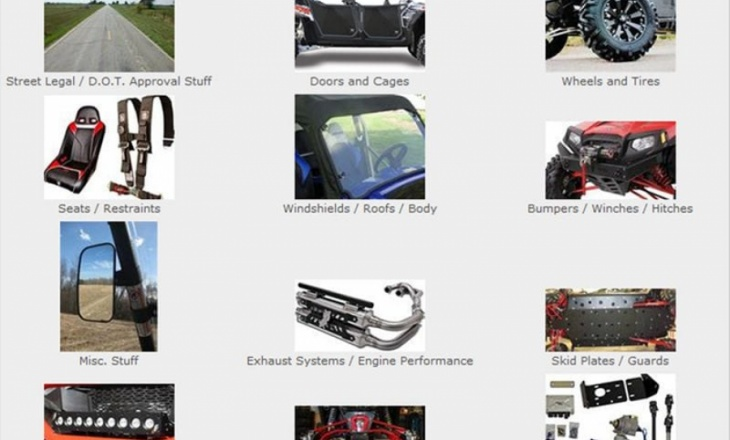 Polaris RZR parts at SideBySideStuff.com
