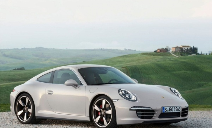 2013 Porsche 911 50 Years Edition limited editon