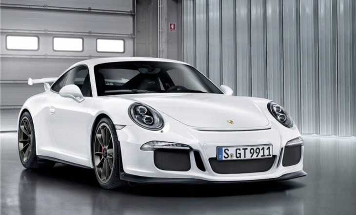 The new 2014 Porsche 911 GT3 Photos and Info