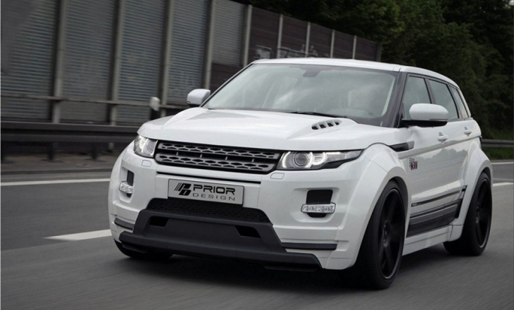 Range Rover Evoque by Prior Design
