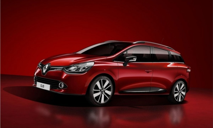 Renault Clio Estate hatchback offers 'record' maximum load length